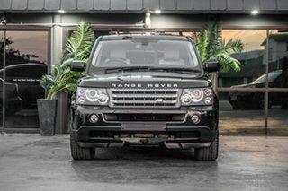 2009 Land Rover Range Rover Sport L320 10MY TDV8 Black 6 Speed Sports Automatic Wagon.
