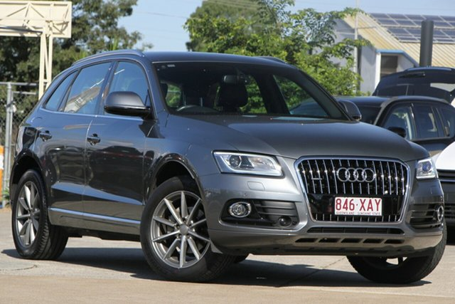 Used Audi Q5 8R MY17 TFSI Tiptronic Quattro Sport Edition, 2016 Audi Q5 8R MY17 TFSI Tiptronic Quattro Sport Edition Grey 8 Speed Sports Automatic Wagon