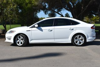 2013 Ford Mondeo MC Titanium PwrShift EcoBoost White 6 Speed Sports Automatic Dual Clutch Hatchback.