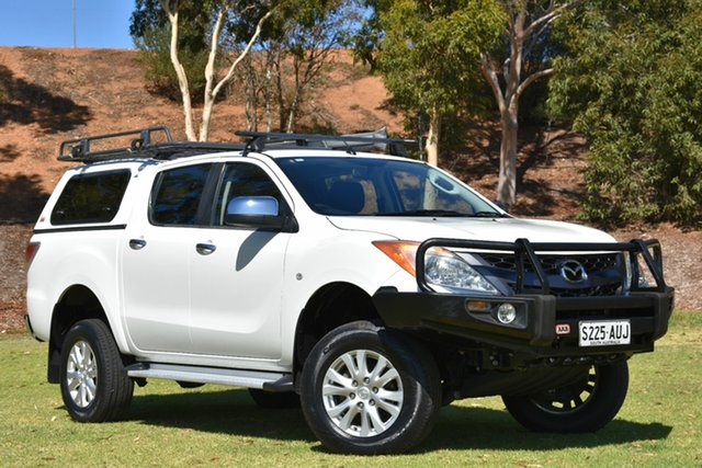 Used Mazda BT-50 UP0YF1 XTR, 2012 Mazda BT-50 UP0YF1 XTR White 6 Speed Sports Automatic Utility