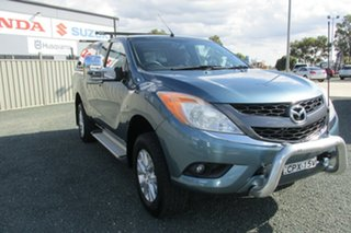 2013 Mazda BT-50 UP0YF1 XTR Freestyle Blue 6 Speed Sports Automatic Utility
