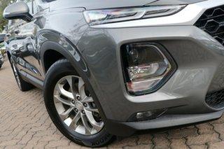 2018 Hyundai Santa Fe TM Active CRDi (AWD) Grey 8 Speed Automatic Wagon.