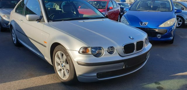 Used BMW 3 Series E46/5 MY04 318ti Steptronic, 2004 BMW 3 Series E46/5 MY04 318ti Steptronic Silver 5 Speed Sports Automatic Hatchback