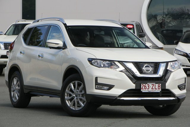 Demo Nissan X-Trail T32 Series II ST-L X-tronic 2WD, 2019 Nissan X-Trail T32 Series II ST-L X-tronic 2WD Ivory Pearl 7 Speed Constant Variable Wagon