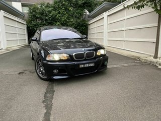 2002 BMW M3 E46 SMG Black 6 Speed Seq Manual Auto-Clutch Coupe.