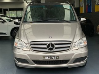 2012 Mercedes-Benz Viano 639 BlueEFFICIENCY Palladium Silver Automatic Wagon.