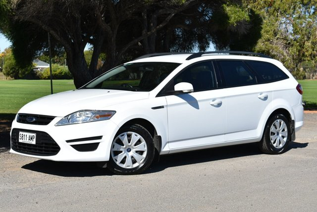 Used Ford Mondeo MC LX PwrShift TDCi, 2011 Ford Mondeo MC LX PwrShift TDCi White 6 Speed Sports Automatic Dual Clutch Wagon