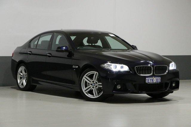 Used BMW 520d F10 MY15 Luxury Line, 2015 BMW 520d F10 MY15 Luxury Line Blue 8 Speed Automatic Sedan