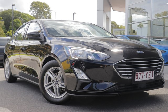 Demo Ford Focus SA 2019.75MY Trend, 2019 Ford Focus SA 2019.75MY Trend Shadow Black 8 Speed Automatic Hatchback
