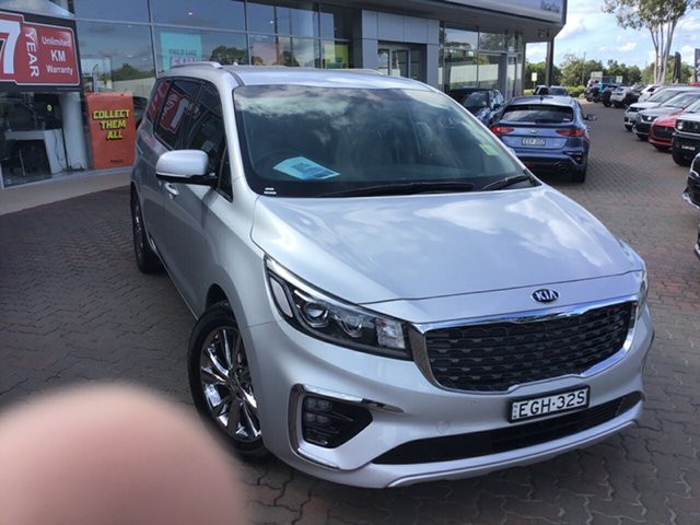 Demo Kia Carnival YP MY19 Platinum, 2019 Kia Carnival YP MY19 Platinum Silky Silver 8 Speed Sports Automatic Wagon