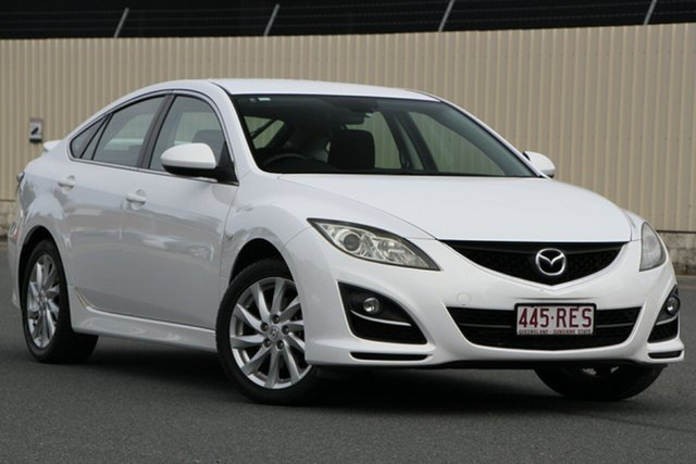 Used Mazda 6 GH1052 MY10 Classic, 2010 Mazda 6 GH1052 MY10 Classic White 6 Speed Manual Hatchback