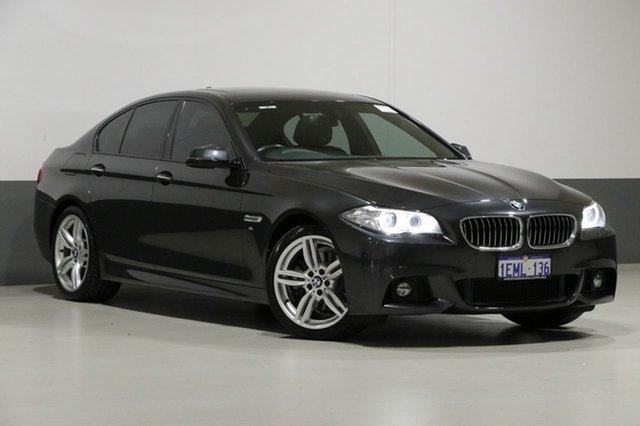 Used BMW 520d F10 MY14 Upgrade Luxury Line, 2014 BMW 520d F10 MY14 Upgrade Luxury Line Grey 8 Speed Automatic Sedan