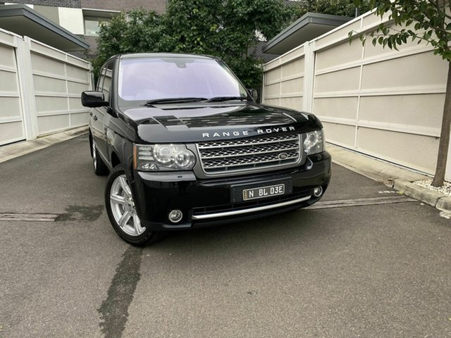 Used Land Rover Range Rover Vogue L322 11MY Autobiography, 2010 Land Rover Range Rover Vogue L322 11MY Autobiography Black 6 Speed Sports Automatic Wagon