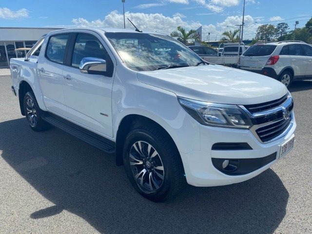 Used Holden Colorado RG MY18 LTZ Pickup Crew Cab, 2017 Holden Colorado RG MY18 LTZ Pickup Crew Cab Summit White 6 Speed Sports Automatic Utility