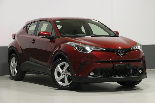 Used Toyota C-HR NGX10R Update (2WD), 2018 Toyota C-HR NGX10R Update (2WD) Atomic Rush Continuous Variable Wagon