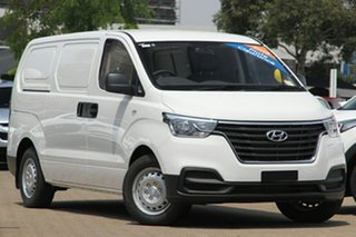 2020 Hyundai iLOAD TQ4 MY20 3S Twin Swing Creamy White 5 Speed Automatic Van.