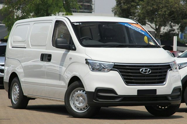 New Hyundai iLOAD TQ4 MY20 3S Twin Swing, 2020 Hyundai iLOAD TQ4 MY20 3S Twin Swing Creamy White 5 Speed Automatic Van