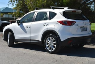 2013 Mazda CX-5 KE1021 MY13 Grand Touring SKYACTIV-Drive AWD White 6 Speed Sports Automatic Wagon.