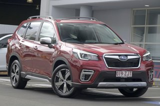 2019 Subaru Forester S5 MY20 2.5i-S CVT AWD Crimson Red 7 Speed Wagon.