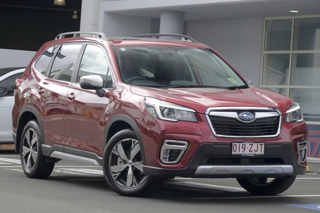 Demo Subaru Forester S5 MY20 2.5i-S CVT AWD, 2019 Subaru Forester S5 MY20 2.5i-S CVT AWD Crimson Red 7 Speed Wagon