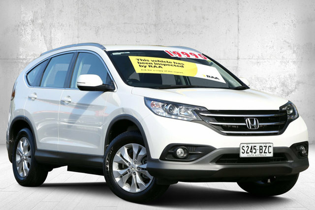 Used Honda CR-V RM MY14 VTi-S 4WD, 2013 Honda CR-V RM MY14 VTi-S 4WD White Orchid 5 Speed Sports Automatic Wagon