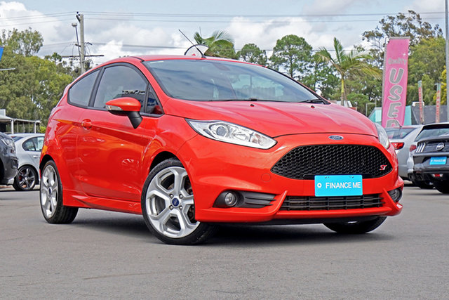 Used Ford Fiesta WZ ST, 2013 Ford Fiesta WZ ST Orange 6 Speed Manual Hatchback