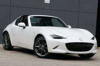 2020 Mazda MX-5 ND GT RF SKYACTIV-Drive White 6 Speed Sports Automatic Targa.