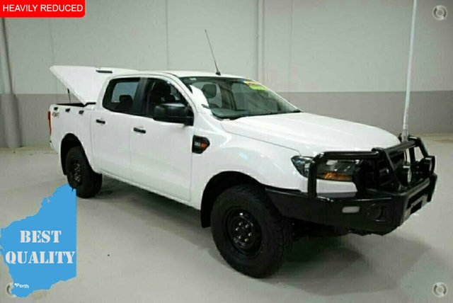 Used Ford Ranger PX MkII XL Double Cab, 2015 Ford Ranger PX MkII XL Double Cab White 6 Speed Manual Utility