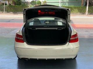 2010 Mercedes-Benz E-Class C207 E250 CGI Avantgarde Diamond White Sports Automatic Coupe