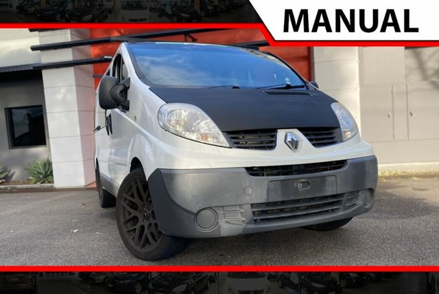 Used Renault Trafic X83 Phase 3 Low Roof, 2012 Renault Trafic X83 Phase 3 Low Roof White 6 Speed Manual Van
