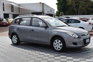 2011 Hyundai i30 FD MY11 SX cw Wagon Silver 4 Speed Automatic Wagon.
