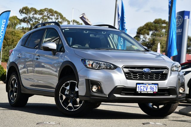 Demo Subaru XV G5X MY20 2.0i Premium Lineartronic AWD, 2020 Subaru XV G5X MY20 2.0i Premium Lineartronic AWD Ice Silver 7 Speed Constant Variable Wagon