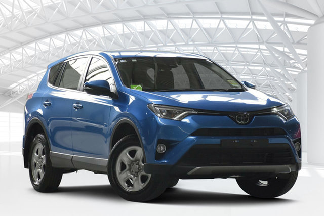 Used Toyota RAV4 ZSA42R MY18 GX (2WD), 2018 Toyota RAV4 ZSA42R MY18 GX (2WD) Blue Continuous Variable Wagon