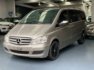 2012 Mercedes-Benz Viano 639 BlueEFFICIENCY Palladium Silver Automatic Wagon