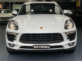 2015 Porsche Macan 95B S Diesel White Sports Automatic Dual Clutch Wagon.