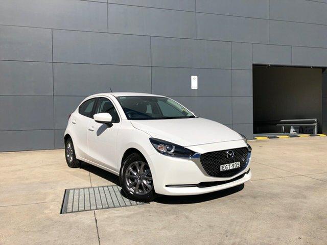 Demo Mazda 2 DJ2HAA G15 SKYACTIV-Drive Pure, 2020 Mazda 2 DJ2HAA G15 SKYACTIV-Drive Pure Snowflake White 6 Speed Sports Automatic Hatchback