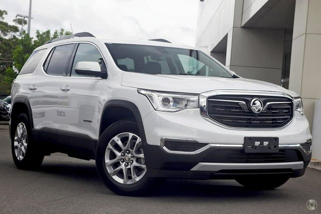 New Holden Acadia AC MY19 LT AWD, 2019 Holden Acadia AC MY19 LT AWD Summit White 9 Speed Sports Automatic Wagon
