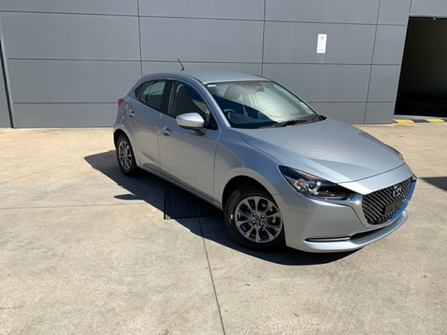 New Mazda 2 DJ2HAA G15 SKYACTIV-Drive Pure, 2020 Mazda 2 DJ2HAA G15 SKYACTIV-Drive Pure Sonic Silver 6 Speed Sports Automatic Hatchback