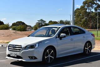 2015 Subaru Liberty B6 MY15 2.5i CVT AWD Premium White 6 Speed Constant Variable Sedan