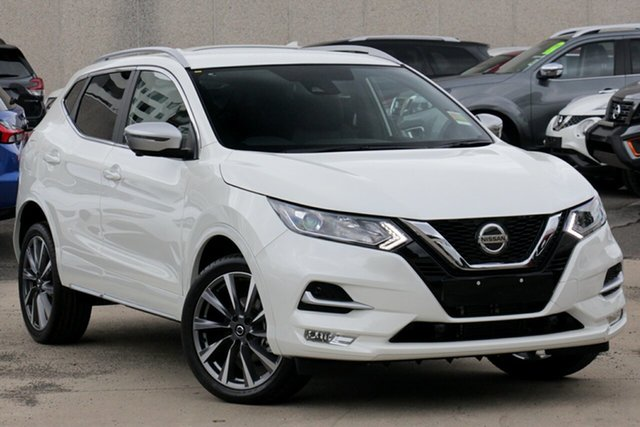 New Nissan Qashqai J11 Series 3 MY20 N-SPORT X-tronic, 2019 Nissan Qashqai J11 Series 3 MY20 N-SPORT X-tronic Snow Storm 1 Speed Constant Variable Wagon