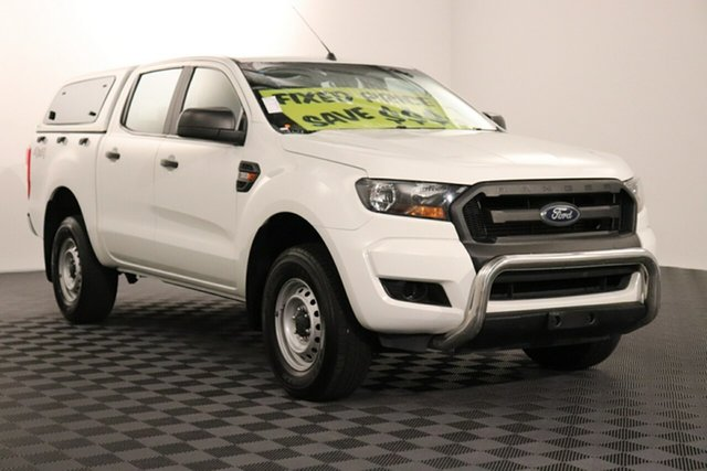 Used Ford Ranger PX MkII XL Double Cab, 2016 Ford Ranger PX MkII XL Double Cab White 6 speed Automatic Utility