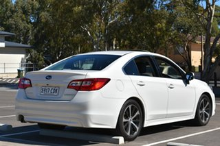 2015 Subaru Liberty B6 MY15 2.5i CVT AWD Premium White 6 Speed Constant Variable Sedan.