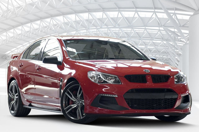Used Holden Special Vehicles ClubSport Gen F2 R8 LSA, 2015 Holden Special Vehicles ClubSport Gen F2 R8 LSA Sting Red 6 Speed Auto Active Sequential Sedan