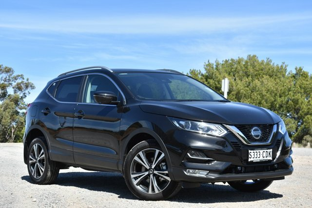 Demo Nissan Qashqai J11 Series 3 MY20 ST-L X-tronic, 2019 Nissan Qashqai J11 Series 3 MY20 ST-L X-tronic Pearl Black 1 Speed Constant Variable Wagon