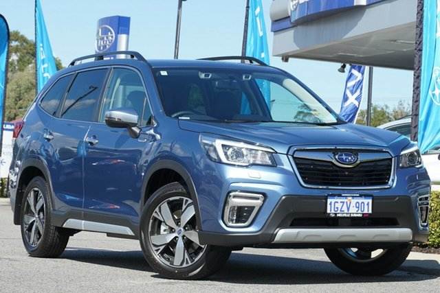 Demo Subaru Forester S5 MY20 Hybrid S CVT AWD, 2020 Subaru Forester S5 MY20 Hybrid S CVT AWD Horizon Blue 7 Speed Constant Variable Wagon Hybrid