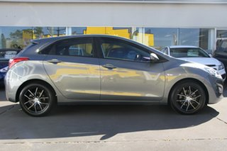 2016 Hyundai i30 GD4 Series II MY17 Active Grey 6 Speed Manual Hatchback.