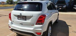 2017 Holden Trax TJ MY16 LTZ White 6 Speed Automatic Wagon.