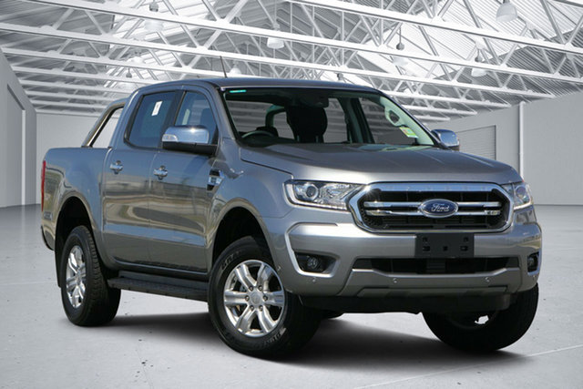 Used Ford Ranger PX MkIII MY19 XLT 2.0 (4x4), 2019 Ford Ranger PX MkIII MY19 XLT 2.0 (4x4) Aluminium 10 Speed Automatic Double Cab Pickup