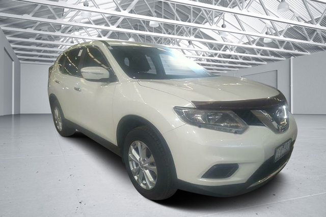 Used Nissan X-Trail T32 TS (FWD), 2016 Nissan X-Trail T32 TS (FWD) Ivory Pearl Continuous Variable Wagon