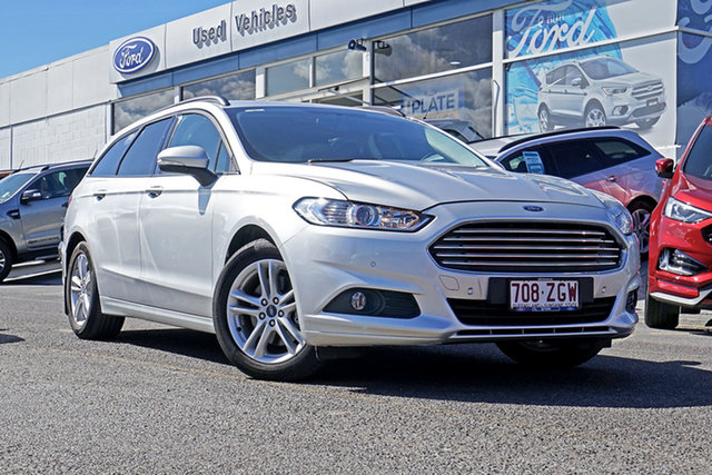 Used Ford Mondeo MD 2018.25MY Ambiente PwrShift, 2017 Ford Mondeo MD 2018.25MY Ambiente PwrShift Silver 6 Speed Sports Automatic Dual Clutch Wagon